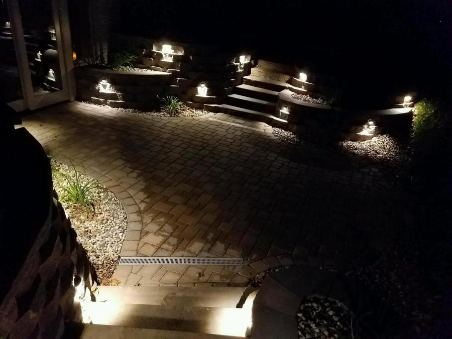 Youngbauer Landscaping Landscape Lighting Outdoor